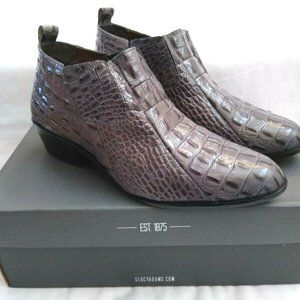 Stacy Adams Siesta Gray Men's Leather Ankle Boots